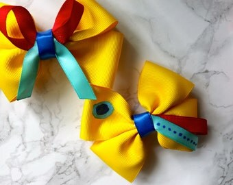 Disneyland Mickey's Toontown Cast Inspired Disney Bow