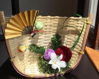 Japanese Style Preserved Flower Arrangement