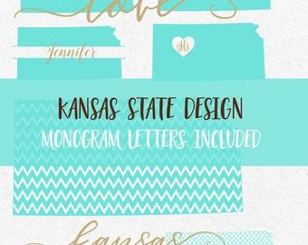 Kansas State Svg Font Mermaid Cricut svg Silhouette svg designs state png dxf jpg svg cutting files svg monogram frames svg monogram state