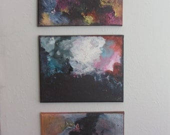 """Original acrylic on canvas - part of the """"Storm Series"""""""