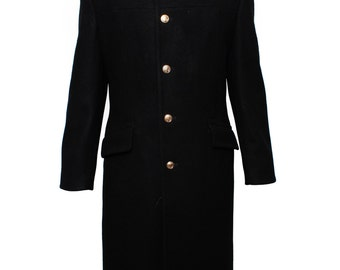 Modern Russian navy woolen coat