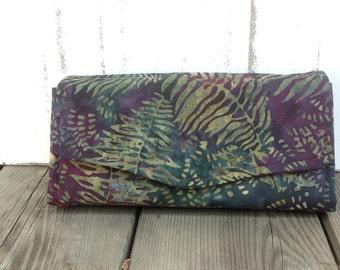 Batik Wallet Clutch