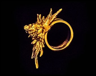 Ring 24k Gold Electro-plated