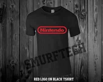 NINTENDO Crewneck T-Shirt - Multiple Colors!