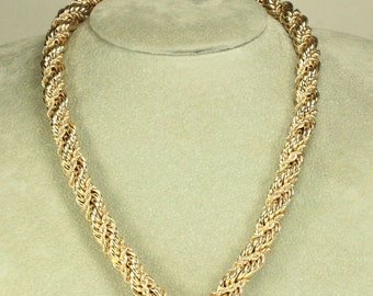 Rope Chain 14K Necklace - Over 90 Grams!