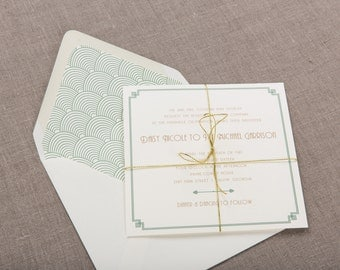 Foxglove Wedding Collection by Paper Daisies, Invitation Suite, Modern, SAMPLE SET