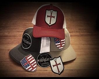 1689 Cap adjustable snap back (choose your hat, choose your patch)