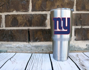 New York Giants-Vinyl Car Decal-Football-Coffee Mug-Mac Book-Sticker