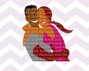Couple hugging SVG Bundle, Couple SVG, Man and woman svg, Clipart Love, couple in love Silhouette, cut files for Silhouette cricut, couple