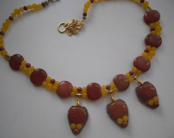 """Necklace""""Sunny morning"""""""