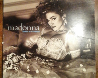 Madonna - Like a Virgin R-161153 Vinyl Record LP 1984