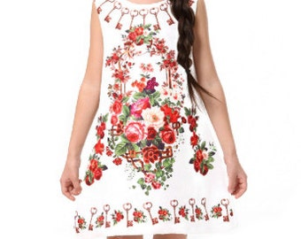 NEW! Children's Key to Roses Dress