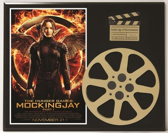 Hunger Games Limited Edition Movie Reel Displays available in Catching Fire, Mockingjay Part 1 & Mockingjay Part 1 version 2