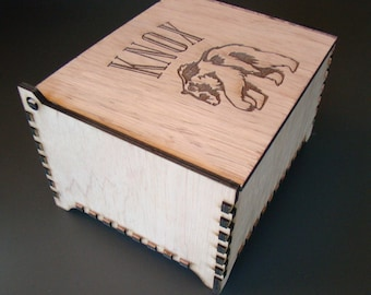 Custom Personalized Savings Piggy Bank Wooden Box Deposit Only