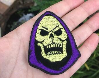 Black Velvet Skeletor Patch