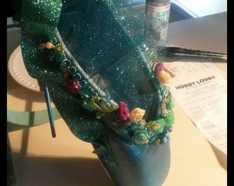 Summer Fairy Pointe Shoes