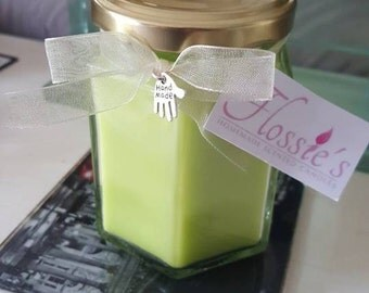 Homemade Medium Lime Cooler Highly Scented Candle