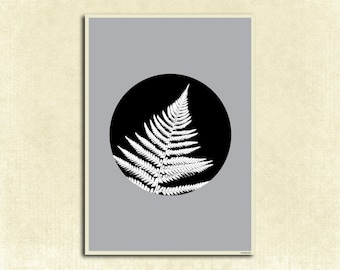 Printable, fern, scandi, urban jungle, garden, plant, nature, instant download, digital file, wall decor, wall art, print art, digital art