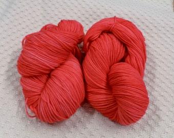 Hand Dyed Washable Merino Yarn