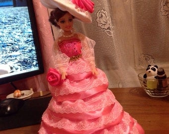 "Hаnd made "" Doll - box "" Masha"" ( кукла-шкатулка "" Маша)"