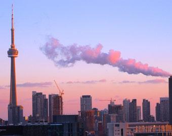 Smokey City - Print