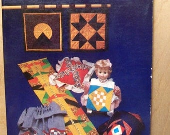Small Patchwork Projects BOOK w/ Step-by-Step Instructions & Full-Size Templates by Barbara Brondolo