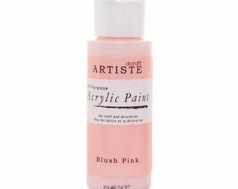 Docraft Acrylic paint - Blush pink