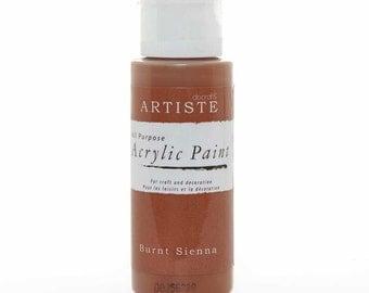 Docraft Acrylic paint - Burnt Sienna