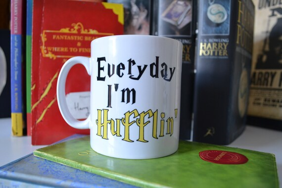 Harry Potter Everyday I'm Hufflin'  Mug