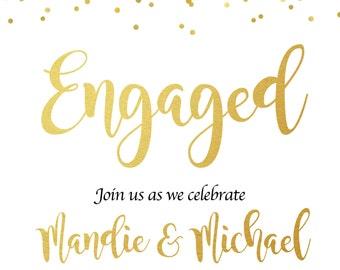 Engagement Party Invite (Digital)