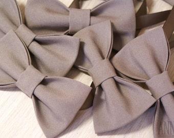 Beige bowtie, brown bowtie, men' bowtie, Bow Tie For Groomsmen, Necktie For Wedding, cocoa tie