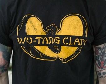 Wu Tang Clam Shirt - PUN PANTRY food, funny, humor, pun, joke, music, hiphop, clam, classic, t-shirt, tee, black, 90s, instagram, hipster