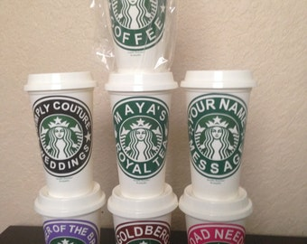 Personalized starbuck cups for all occasions.