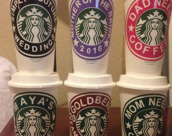 Starbucks cup for all occasions.these are genuine 16 oz starbuck cups