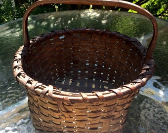Vintage Basket from Farm in Rhode Island