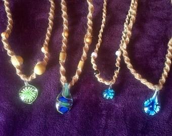 Pendant Hemp Necklaces