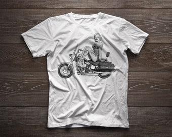 Marilyn Tattooed Pinup T-Shirt