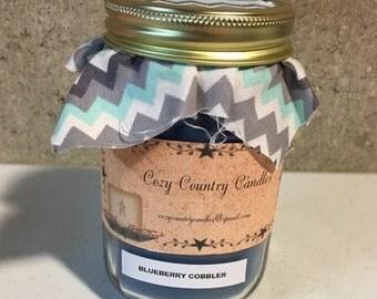 Blueberry Cobbler 16 oz candle