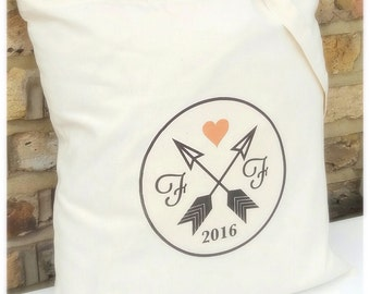 Personalised tote bags | Bride | Wedding | Favours | Hen party | Wedding tote bag | Gift bags | cotton | Wedding tote bag