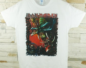 Iron Maiden  The Final Frontier white shirt