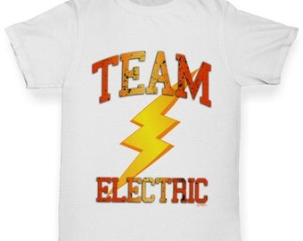 Girl's Team Electric T-Shirt