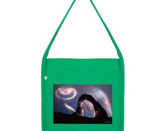 Galaxy Landscape Tote Bag
