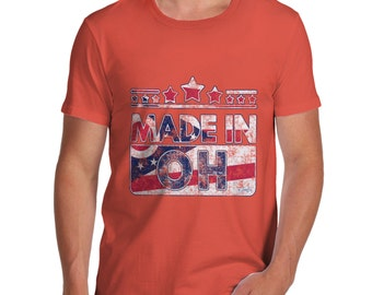 Men's Made In OH Ohio T-Shirt