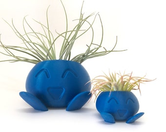 Oddish Planter - 3D Printed Planter - Pokemon Inspired Planter
