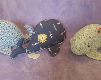 Cute Whales, Soft toy, Children's toy