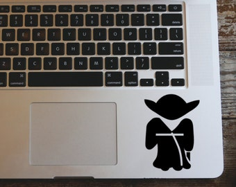 Star Wars Yoda vinyl decal sticker