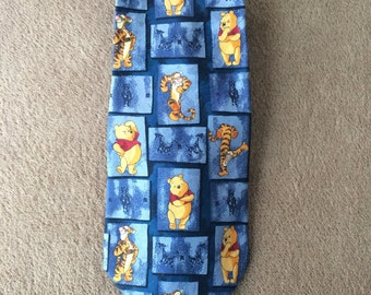 Winnie the Pooh and Tigger Tie, Pooh the Rack, Made in Italy