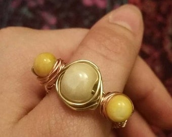 Pearl & Rose Ring