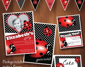 Lady Bug Party Package for any age