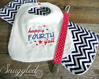4th of July Baby Gift Set